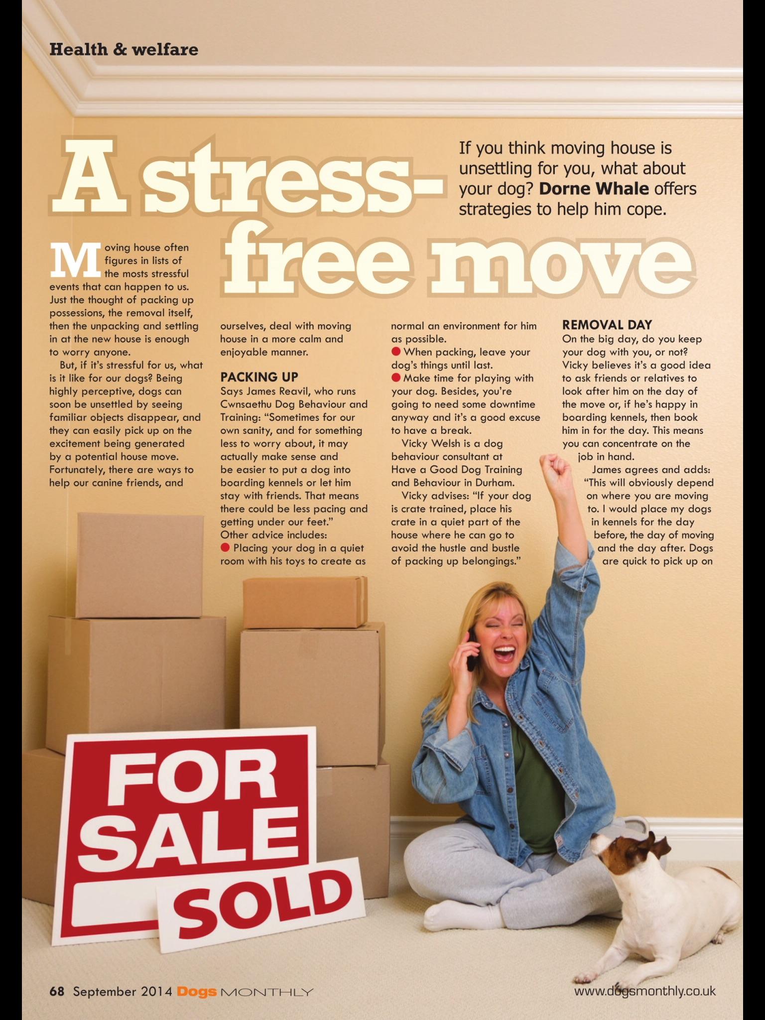 Dogs monthly Magazine September 2014