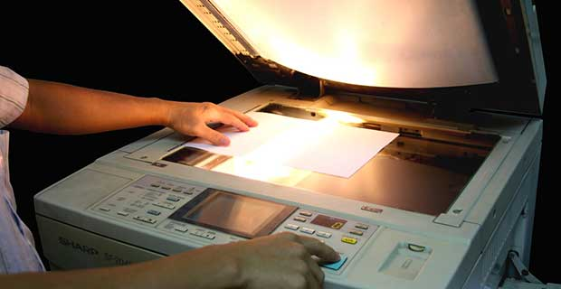 photocopying most government id cards is illegal