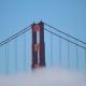Karl the Fog over the Golden Gate Bridge