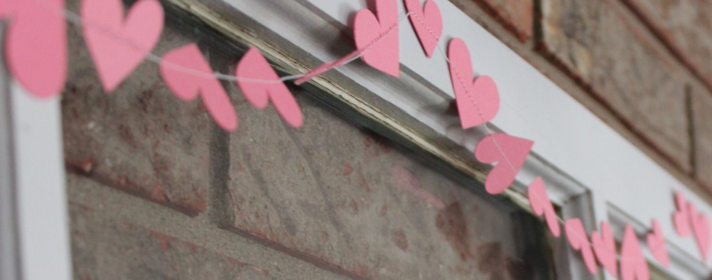 Heart banner by Every day is an occasion.com