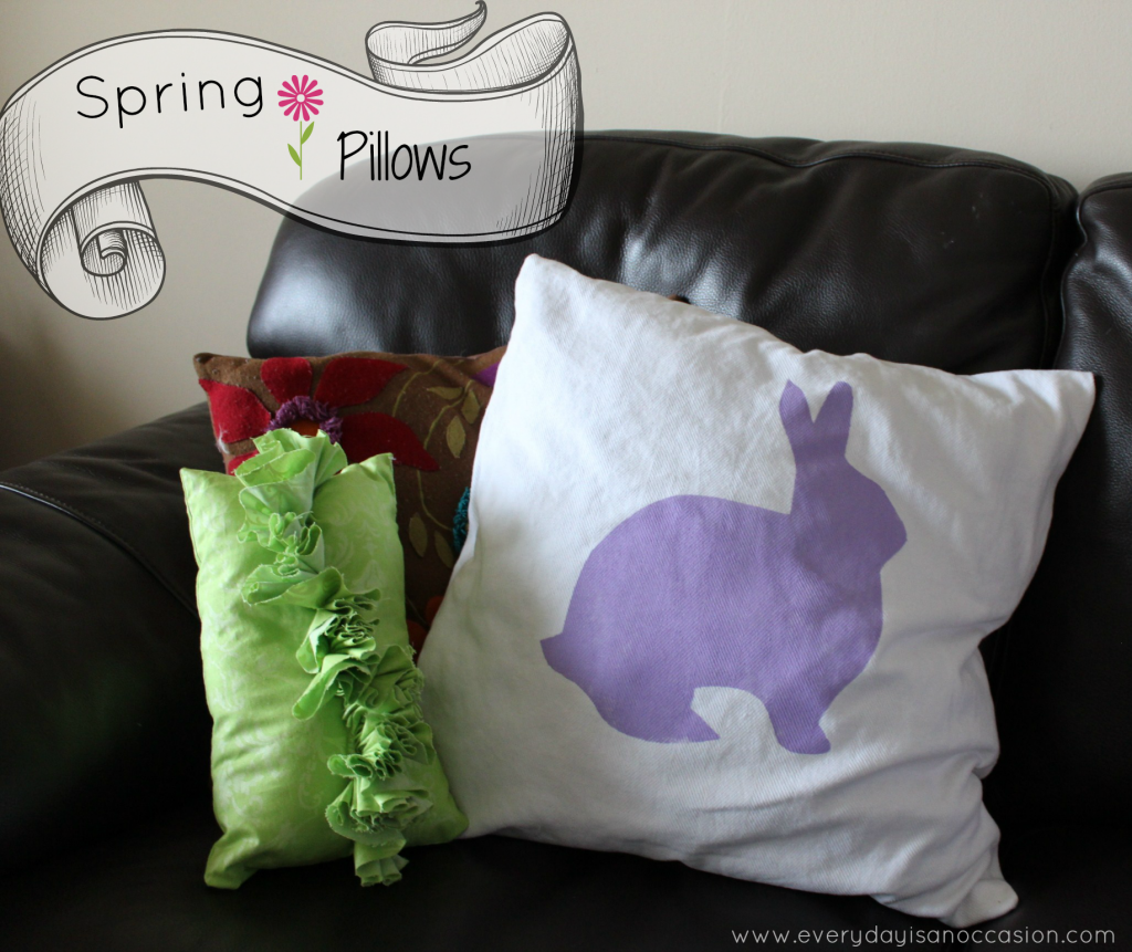 Spring Pillows by Every Day is an Occasion