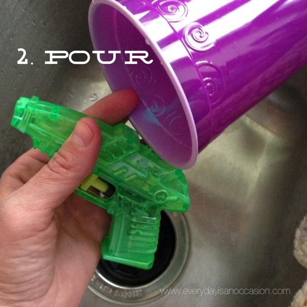Squirt Gun Art Instructions 2