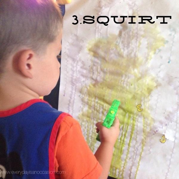 Squirt Gun Art Instructions 3