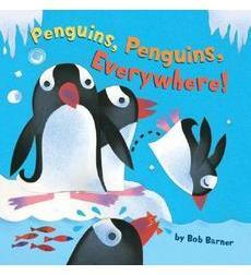 Penguins Penguins Everywhere by bob Barner