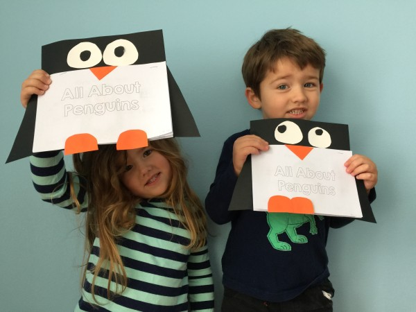 All about penguins non-fiction writing