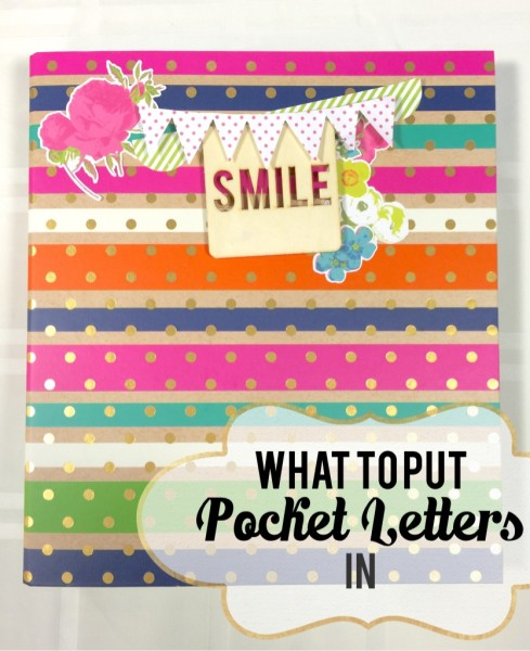 Pocket Letter Binder by Every day is an Occasion