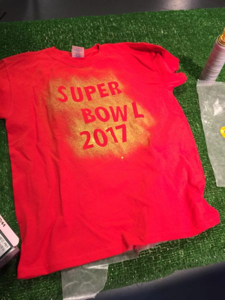 Super Bowl 2017 Easy Craft for Kids