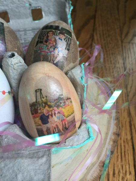 Wooden Photo Egg