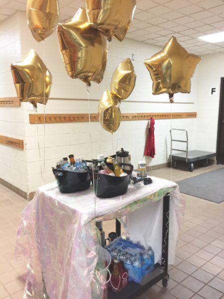Drink Cart for Teacher Appreciation
