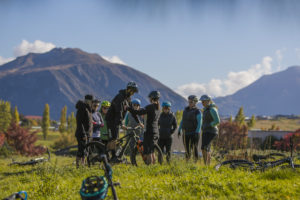 Coaching introduction to MTB skills