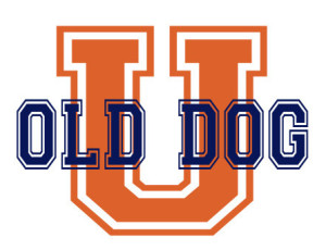 U Old Dog Logo
