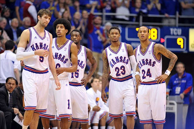 Kansas-Jayhawks-Senior-Night-2013