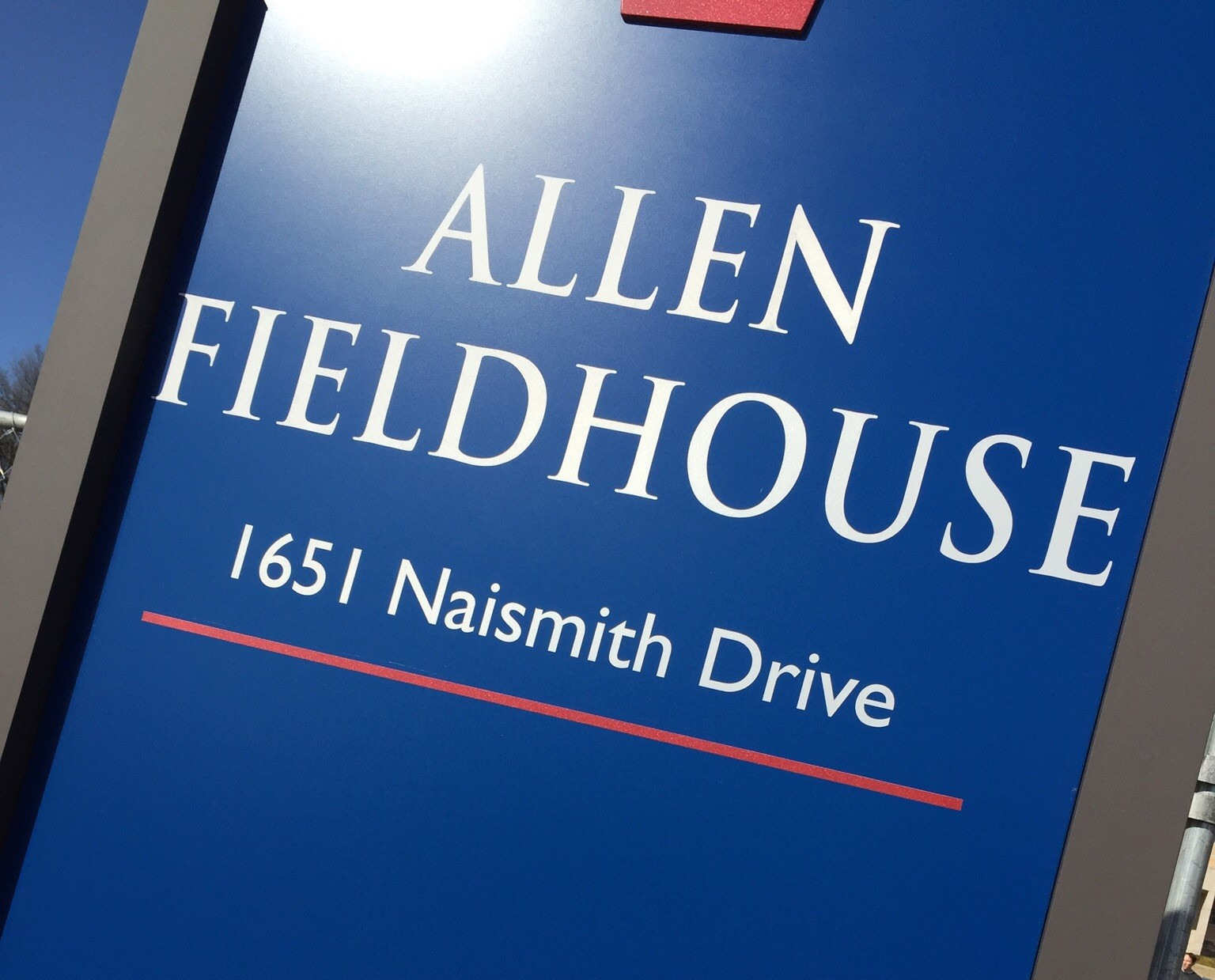 AFH; Naismith Drive. Photo by Ryan Landreth