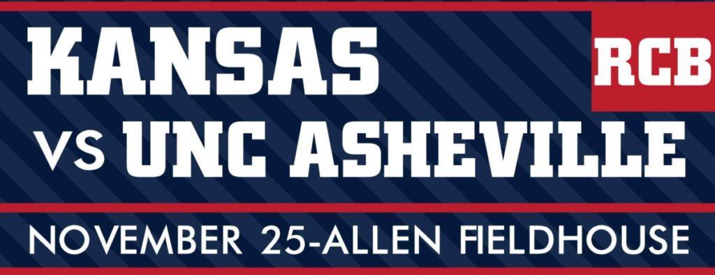 Kansas vs. UNC Asheville