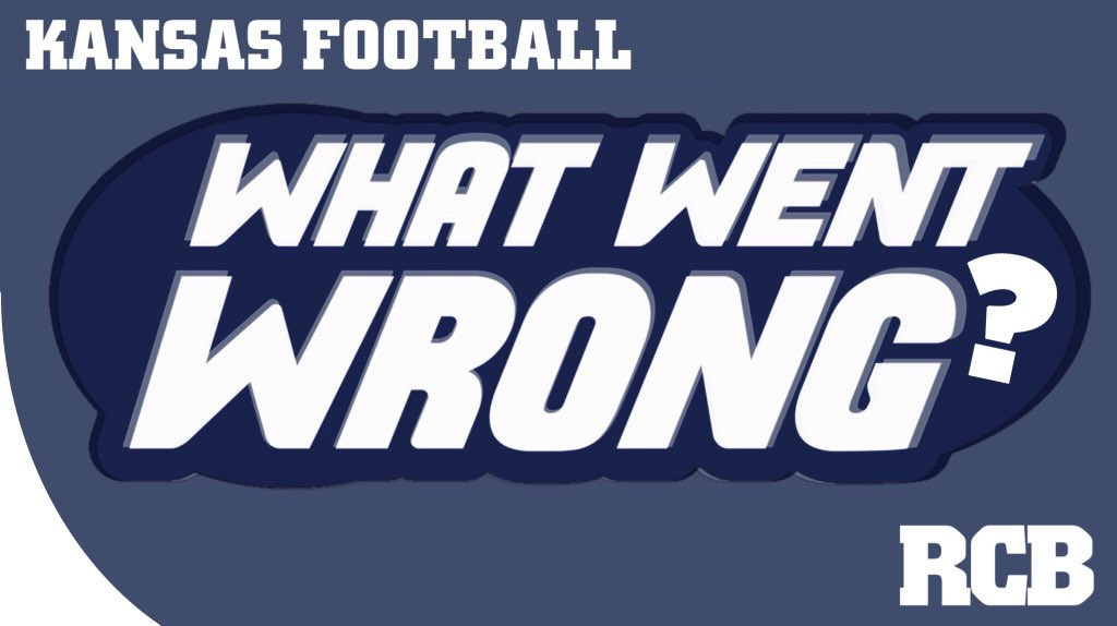 Kansas Jayhawks football: What went wrong? Graphic by Nick Weippert.