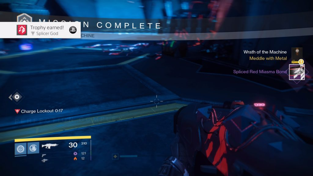 completion screen for destiny hard mode raid