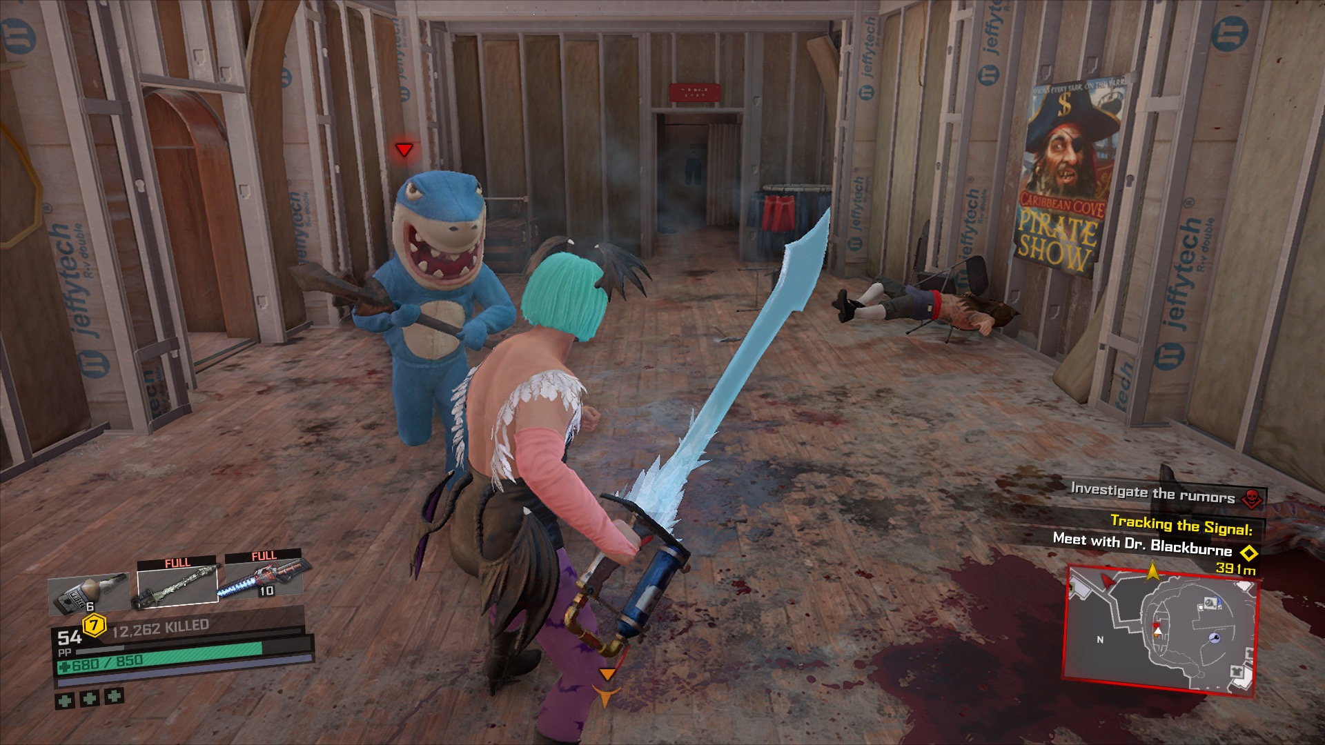 Fighting Maniacs in Dead Rising 4