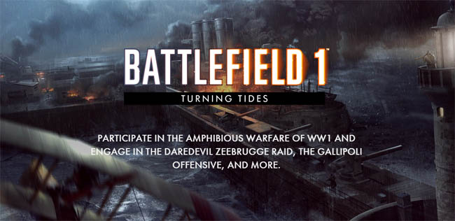 turning tides, battlefield, gaming, new games, gaming news, DLC, battlefield update, gigamax, gigamax games
