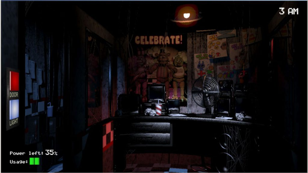 Five Night's at Freddy's, indie games