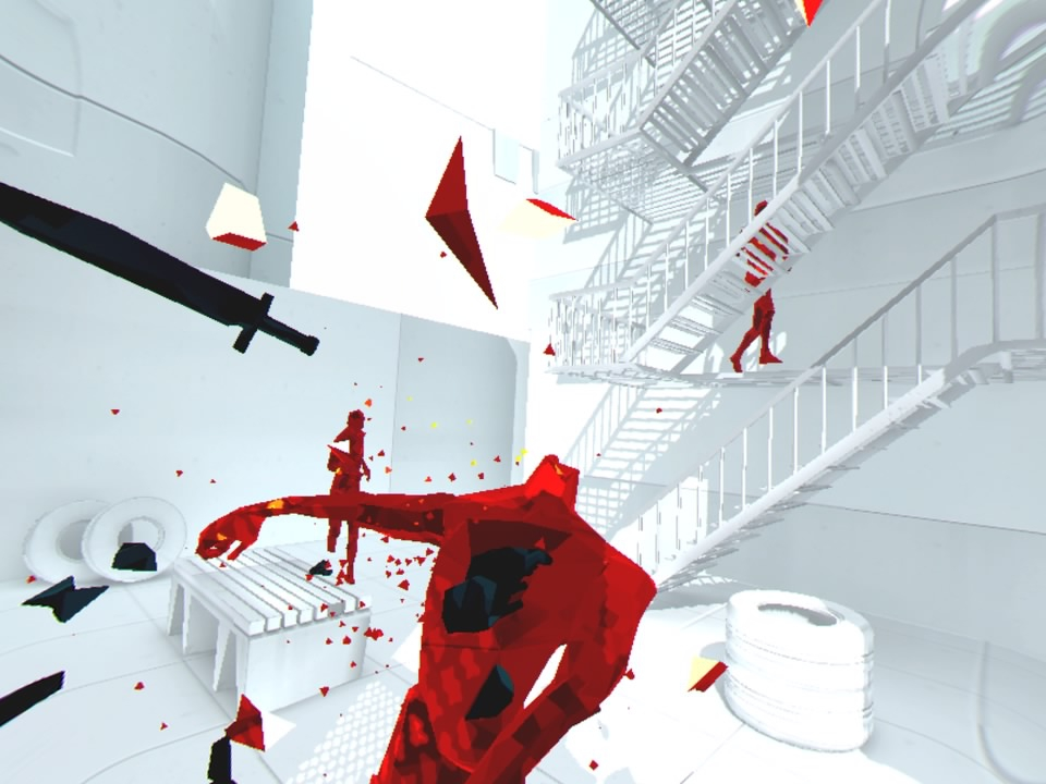 SUPERHOT VR, playstation vr, gaming, new games, new releases, review, superhot vr review, gigamax, gigamax games