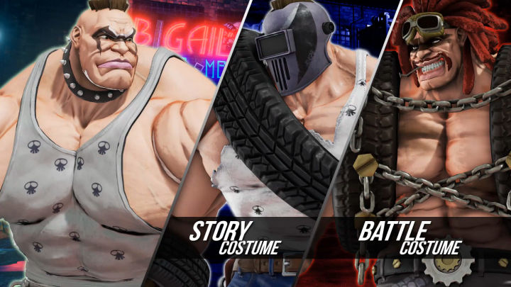 Abigail, Street Fighter 5, new character, dlc, update, gaming, news, video games, gigamax, gigamax games