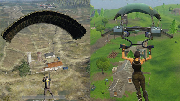 fortnite, PUBG, ripoff, latest games, new games, video game news, did fortnite rip off pubg, gigamax, gigamax games
