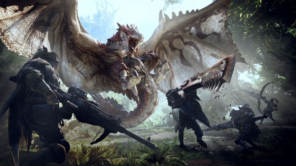 Most Anticipated Video Games of 2018, monster hunter worlds, new games, 2018 games, 2018 game releases, gigamax, gigamax games