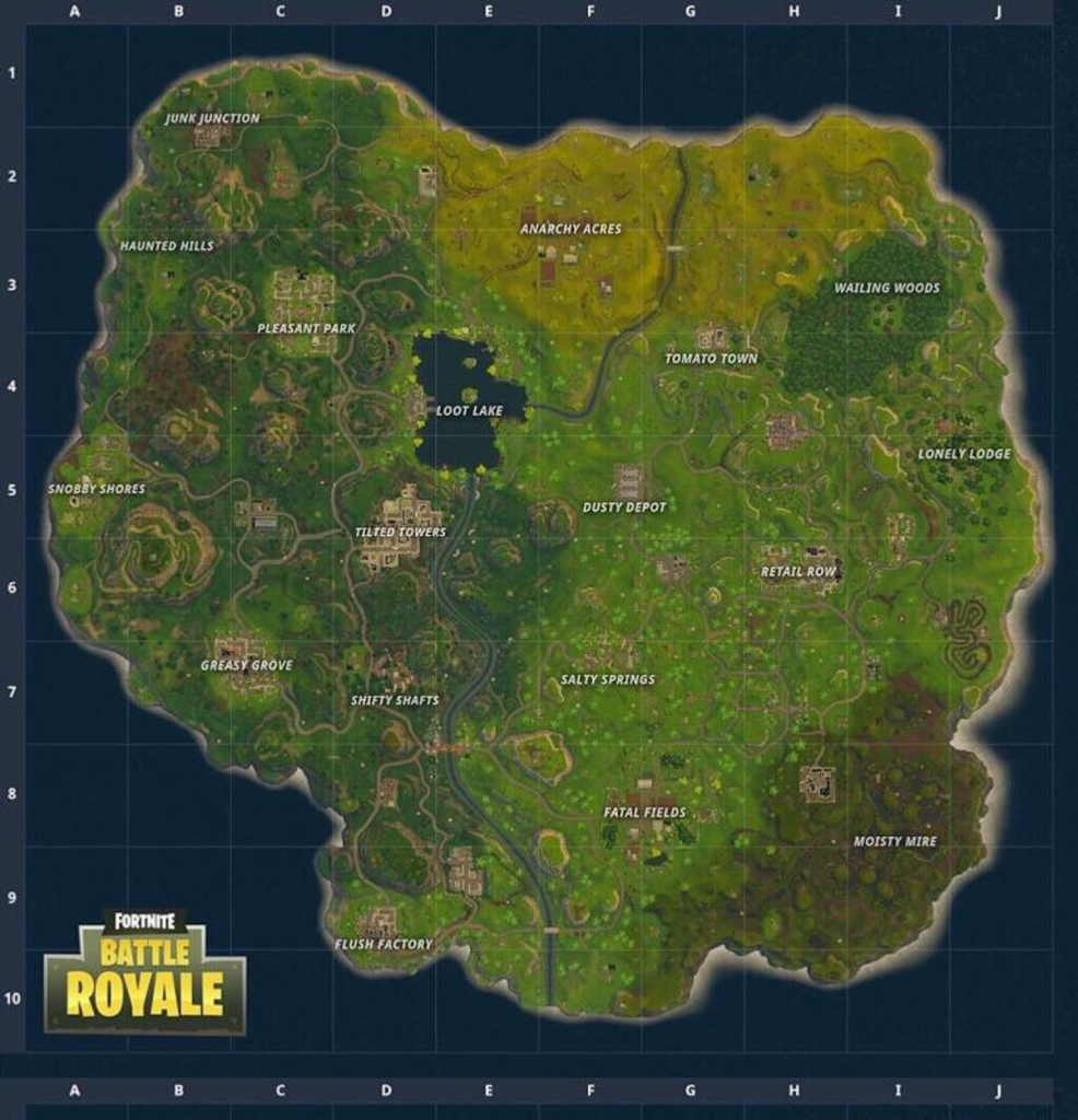 Fortnite, Battle Royale, Fortnite Battle Royale, map update, gigamax games, gigamax gaming news, video game news