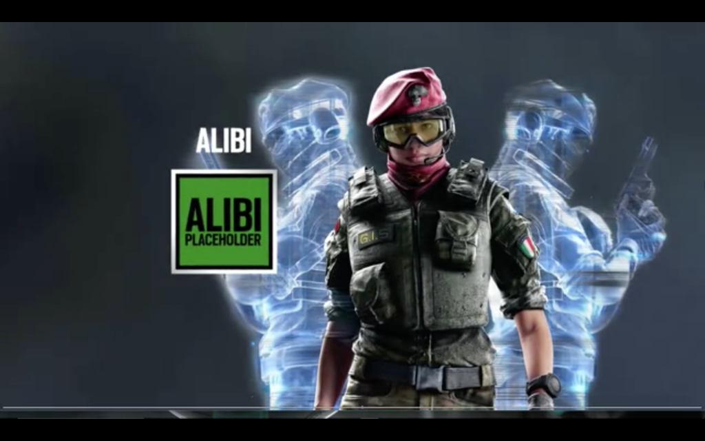 Rainbow Six new character alibi, alibi new rainbow six siege, new rainbow six siege, rainbow six siege rumor