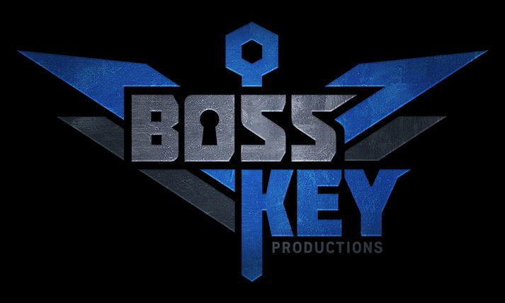 boss key productions logo, boss key radical heights