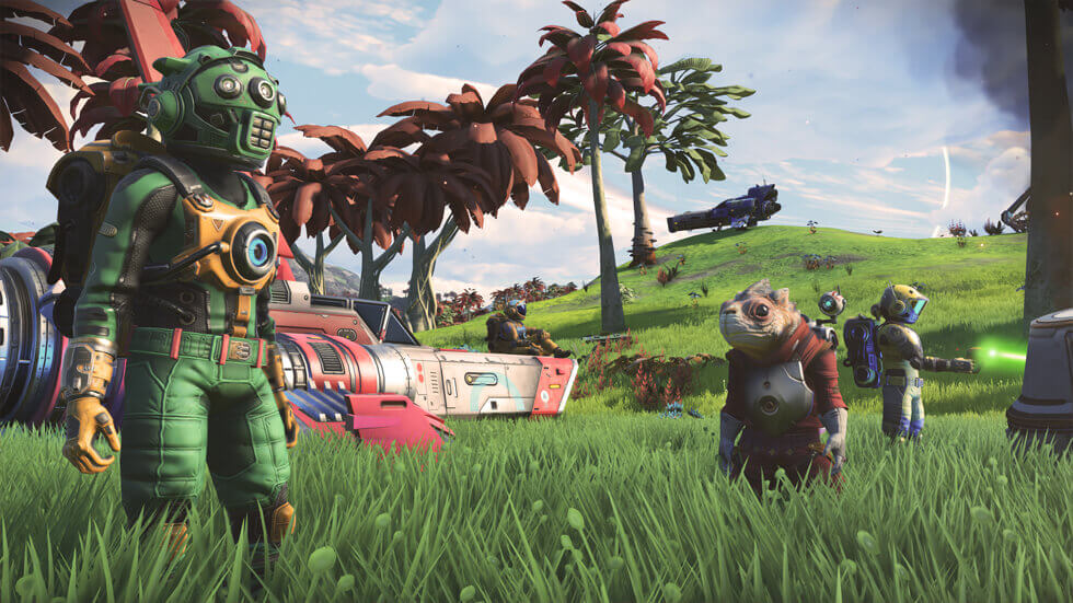 game changing update, next update, no mans sky, no mans sky dlc, no mans sky update, no mans sky news, hello games, hello games news, video game news, gaming news, gigamax games news