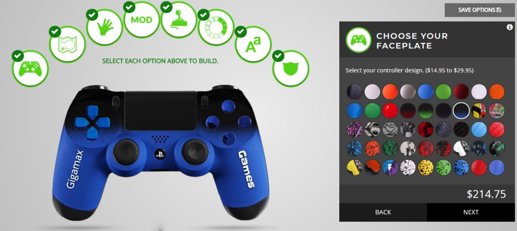 modded controllers, custom controllers, custom ps4 controller, modded ps4 controller, product reviews, gigamax reviews, video game reviews, video game gear, gaming gear