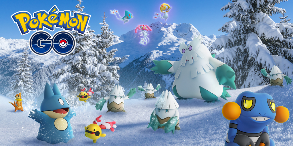 pokemon go winter event, pokemon go, pokemon go event, pokemon go news, mobile gaming, mobile games, video game news, mobile game news