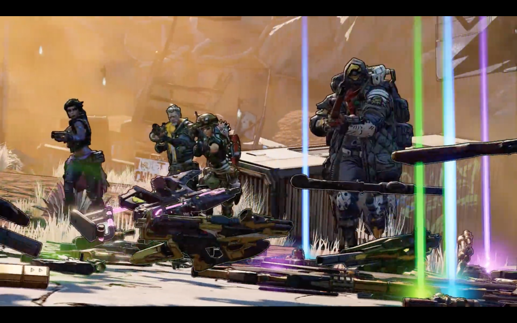 Borderlands 3, Borderlands, Borderlands 3 reveal trailer, Gearbox, gearbox software, gigamax, gigmax games, gaming, ps4, xbox one, pc, pax, pax east, pax east 2019