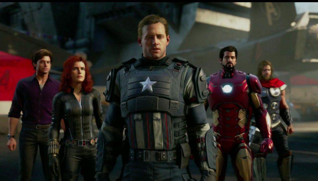 e3 2019 Marvel's Avengers, e3 marvels avengers, marvel's avengers e3 announcement, marvel's avengers reveal, e3 2019 highlights