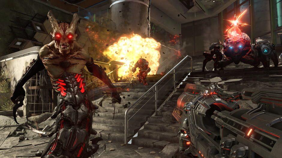 Doom, Doom Eternal, QuakeCon, Id Software, Bethesda, Battlemode, ps4, xbox one, nintendo switch, pc, gigamax, gigamax games, doom 3 player, multiplayer doom