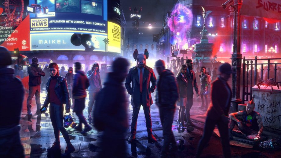watch dogs legion, watch dogs, watch dogs legion release, video game release dates