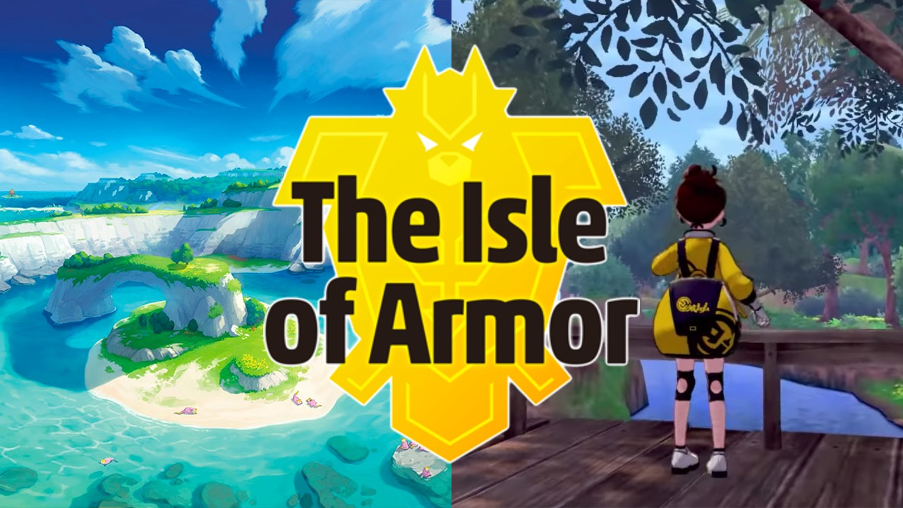 the isle of armor, pokemon sword, pokemon shield, Nintendo switch, pokemon expansion