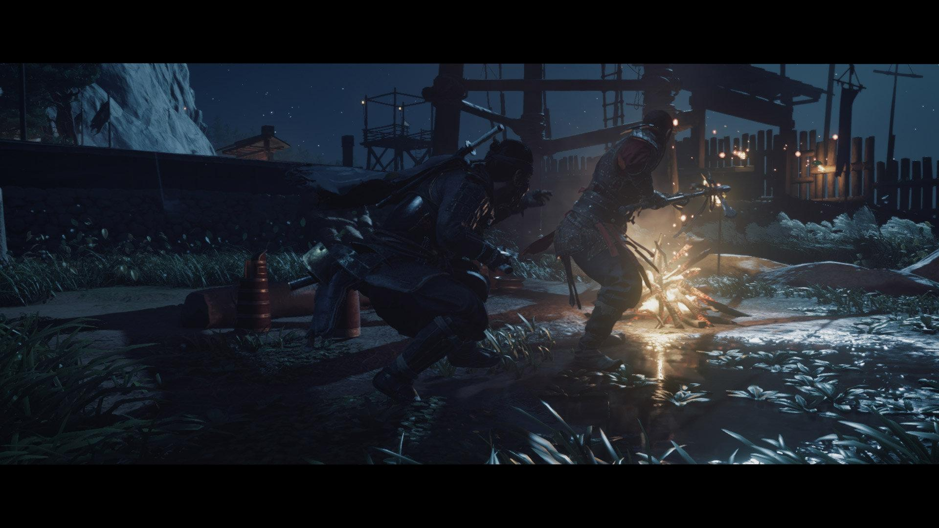 ghost of Tsushima samurai to ghost transformation