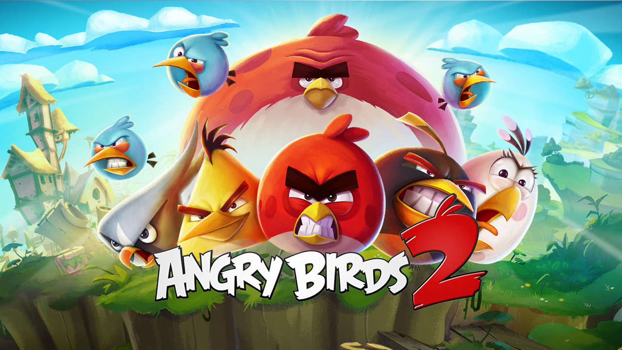 angry birds mobile game