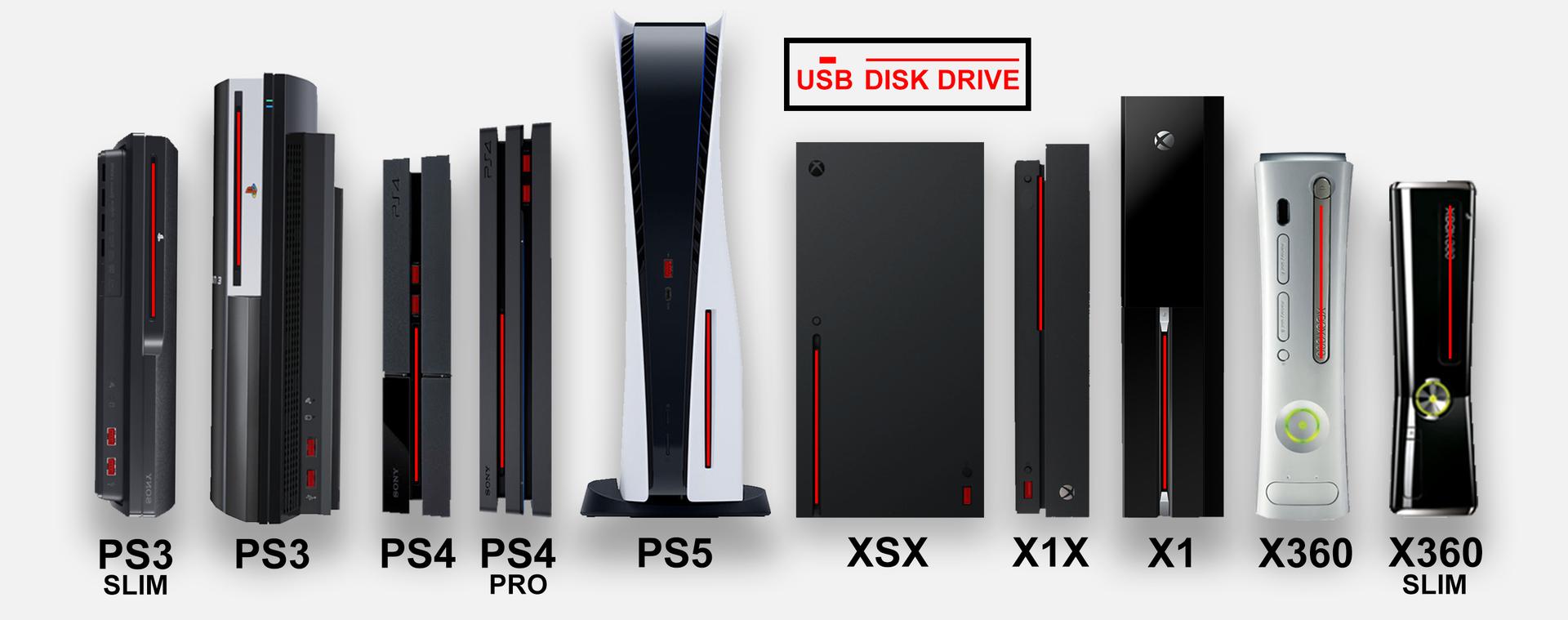 ps5 to xbox size comparison