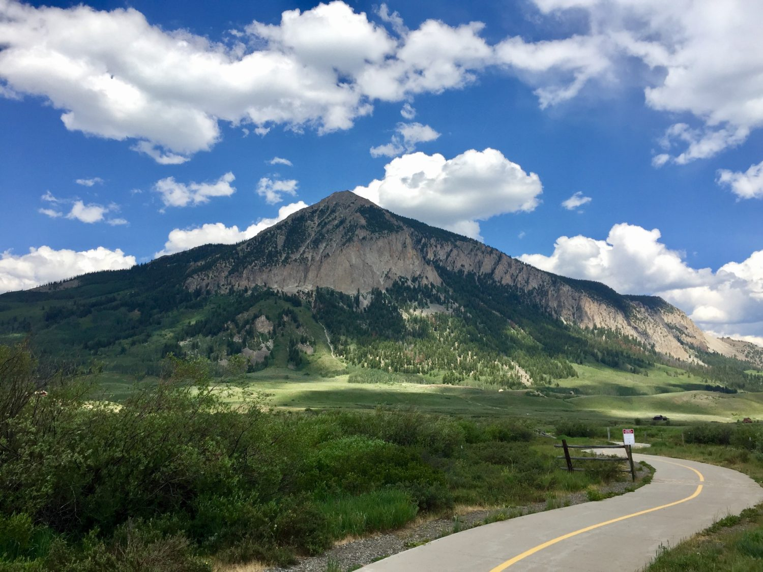 Walking the Crested Butte Rec Path