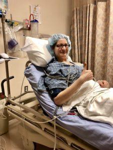 Hip labral tear surgery