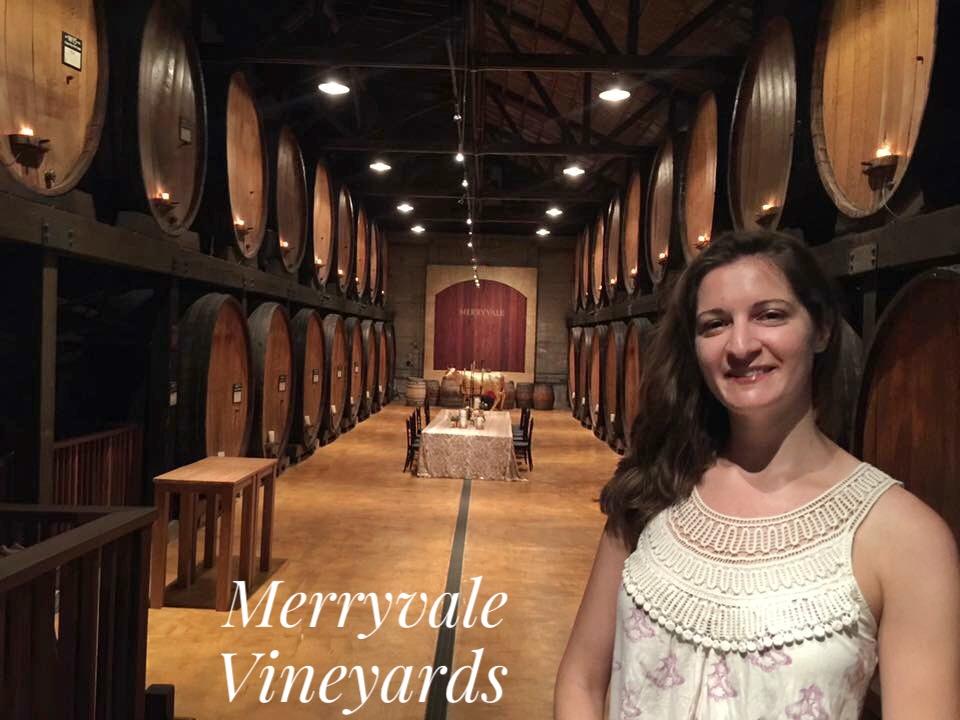 Merryvale Vineyard Wine Tasting, St. Helena