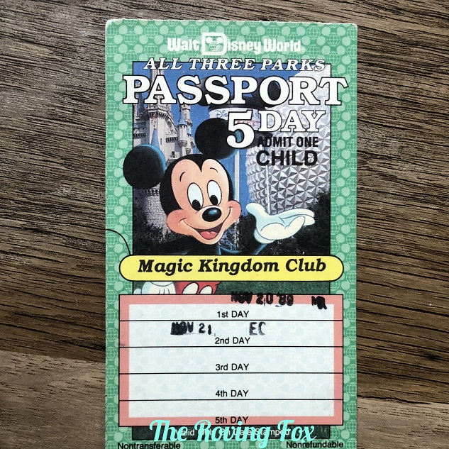 Old Disney tickets – can you trade them in? Mine are almost 30 years old!