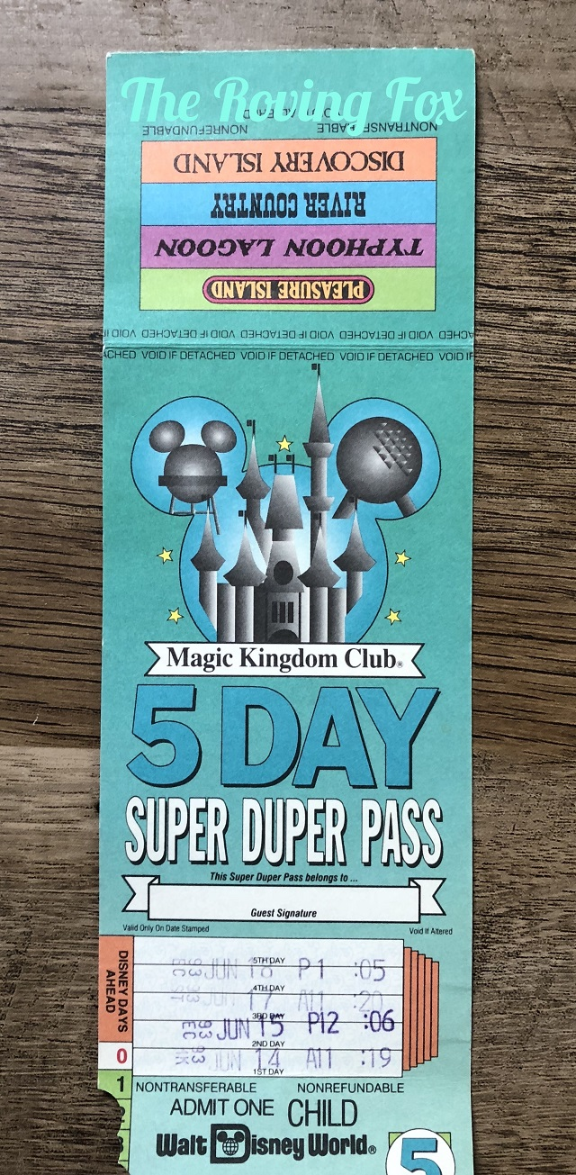Old Disney tickets - can you trade them in? Mine are almost