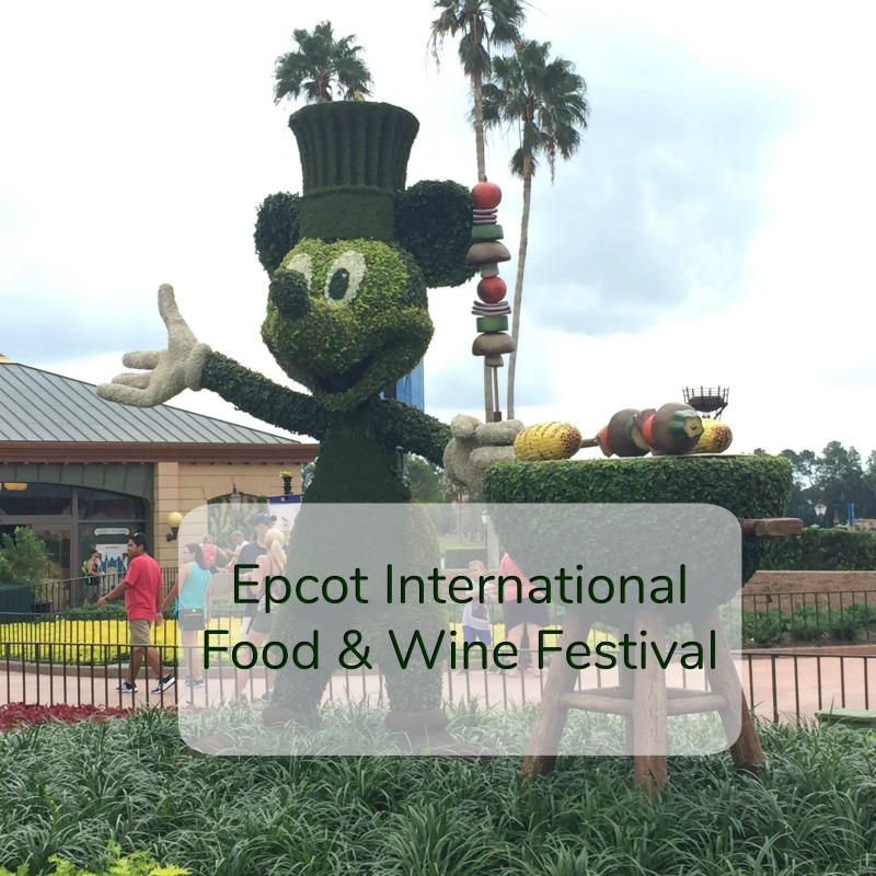 2018 Epcot International Food & Wine Festival at Walt Disney World