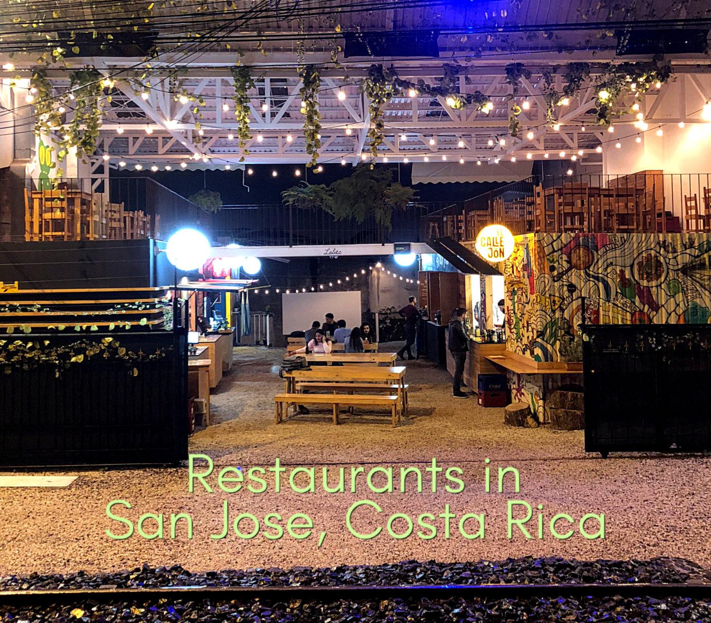 San Jose Costa Rica Restaurants, a New Foodie Paradise
