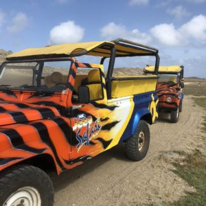 Aruba honeymoon ABC Jeep Safari Tour