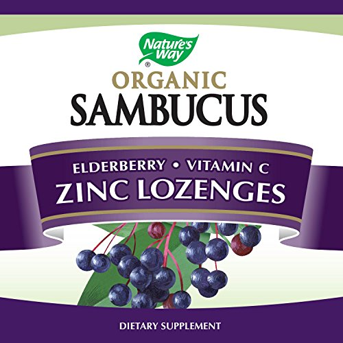 Health and Beauty Travel Kit Essentials Organic Sambucus Lozenge, Elderberry and Zinc